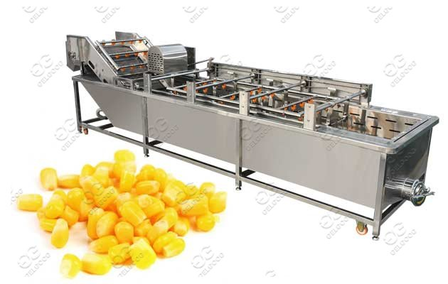 Air Bubble Sweet Corn Washing Machine