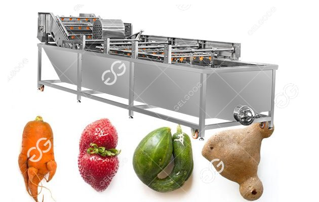 Cleaning Effect Of The Fruit And Vegetable Washing Machine