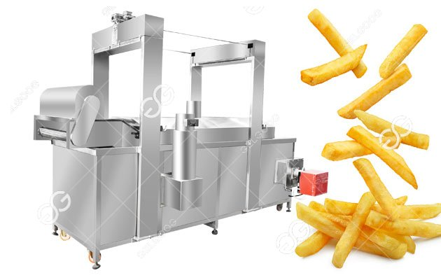 Automatic French Fries Frying Machine