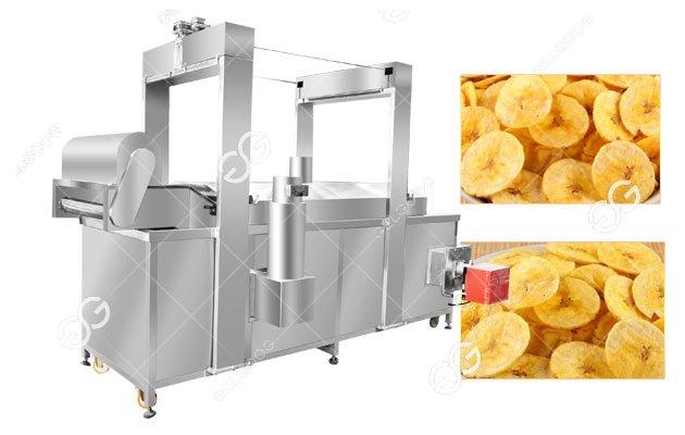 Commercial Banana Chips Frying Machin