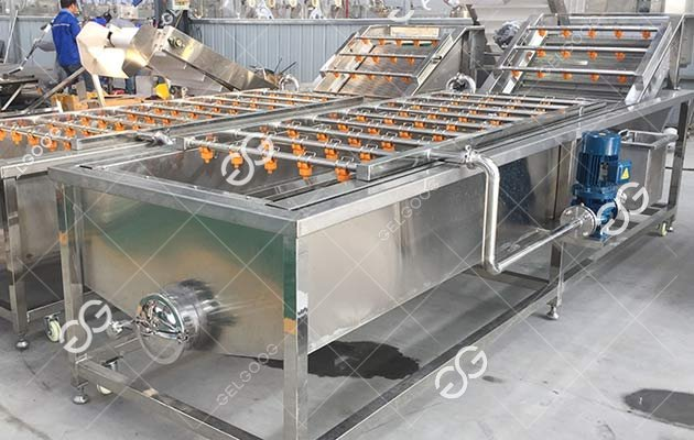 Feedback From Customers Of U.S.About The Fruit Vegetables Cleaning Machine