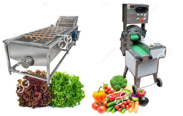 Vegetable Processing Machine Line|Washing,Drying And Cutting Machine Line