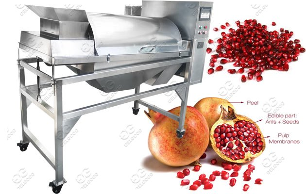 Pomegranate deseeder machine
